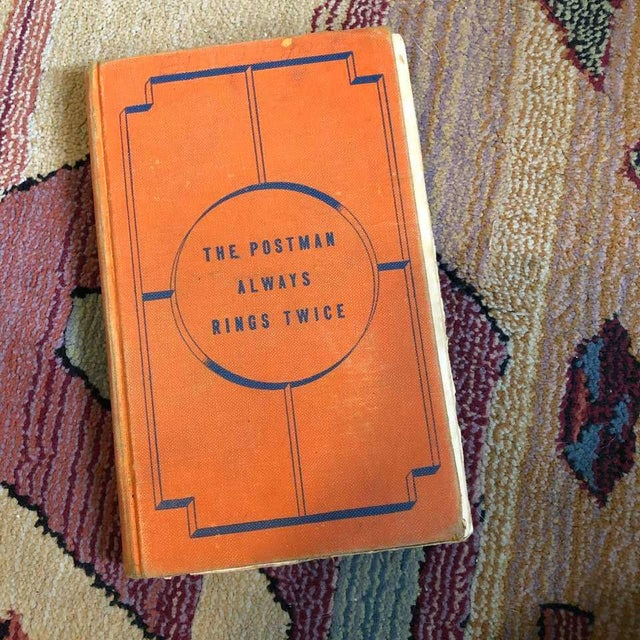 1930s The Postman Always Rings Twice Vintage Book For Sale - Image 5 of 5