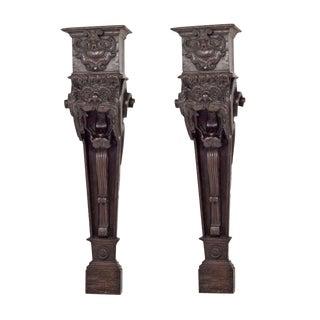 Pair of Italian Baroque Corbels / Brackets