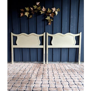 French Provincial Headboards, a Pair Preview