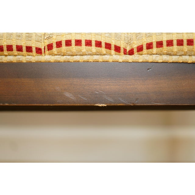 Mid-Century Modern Lewitte's Cane Settee For Sale In Raleigh - Image 6 of 11