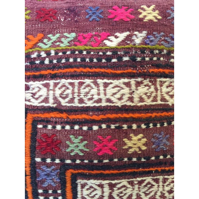 Handmade Kilim Pillow Cover - Image 4 of 6