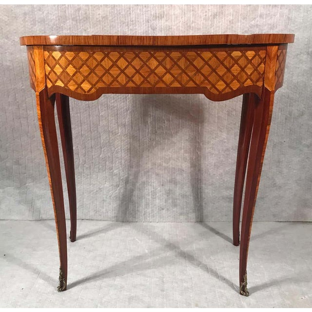 Mid 19th Century 19th Century French Louis XVI Style Vanity For Sale - Image 5 of 12