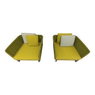 Paola Lenti Sabi Chairs - A Pair For Sale
