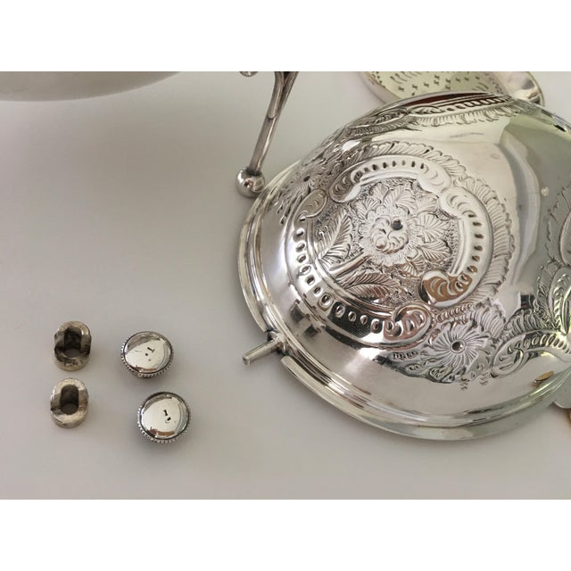 William Hutton & Sons Domed Silver Warming Dish - Image 5 of 10