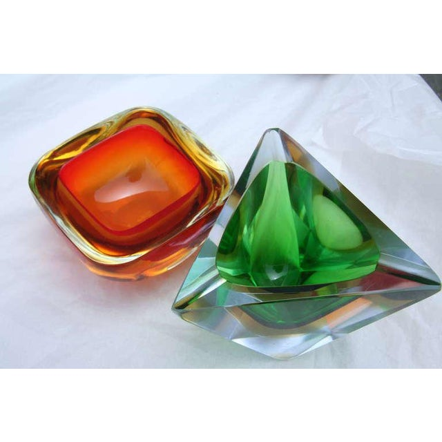 Collection of Colorful Murano Glass Pieces For Sale - Image 9 of 11