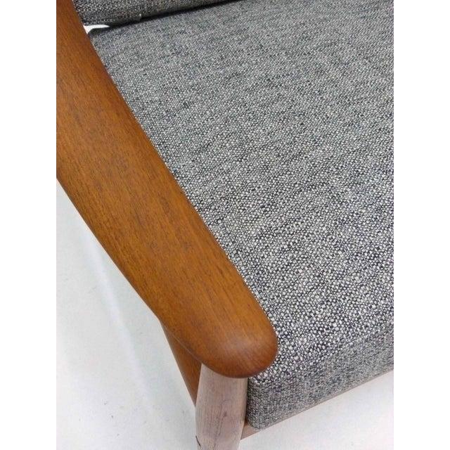 Gray Danish Modern Grete Jalk Teak Lounge Chair For Sale - Image 8 of 10