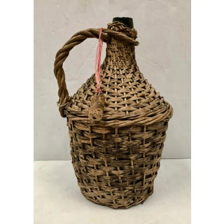 French Wicker Wrapped Demijohn Jug Preview