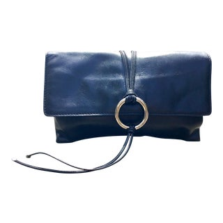Dolce & Gabbana Black Calfskin Clutch For Sale