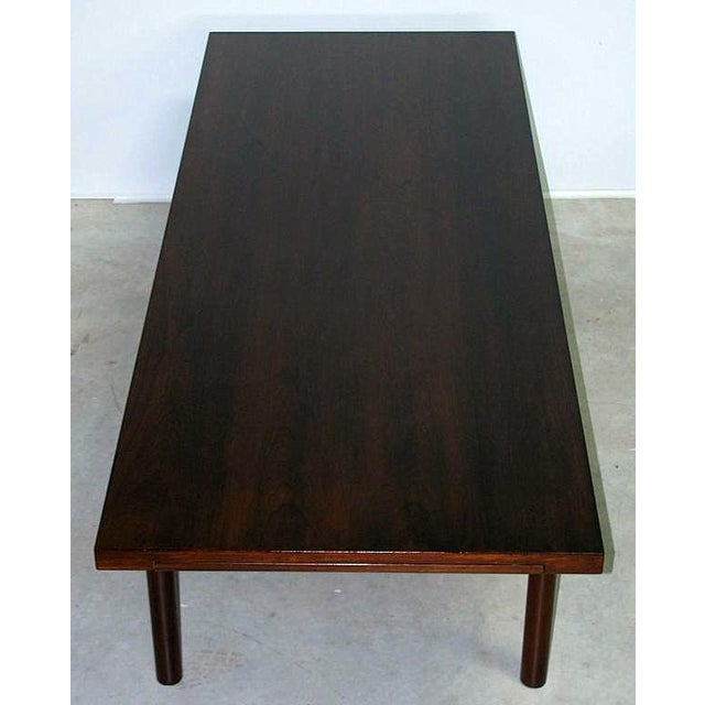 Modern Rosewood Coffee Table with Extending Top - Image 8 of 8