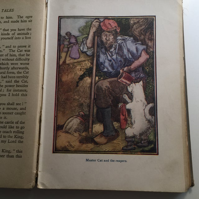 Perrault's Fairy Tales Book, C. 1913 For Sale - Image 10 of 10