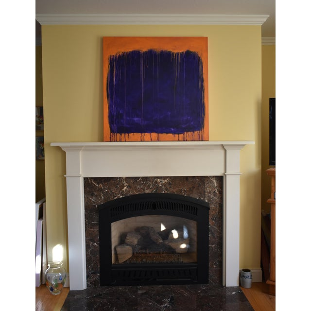 """Stephen Remick """"Tempest"""" Abstract Painting For Sale - Image 10 of 12"""