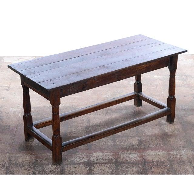 "18th C. Antique English Farmhouse Table. Circa late 1700s. The seller says: ""Provenance of Melanie Griffith & Antonio..."