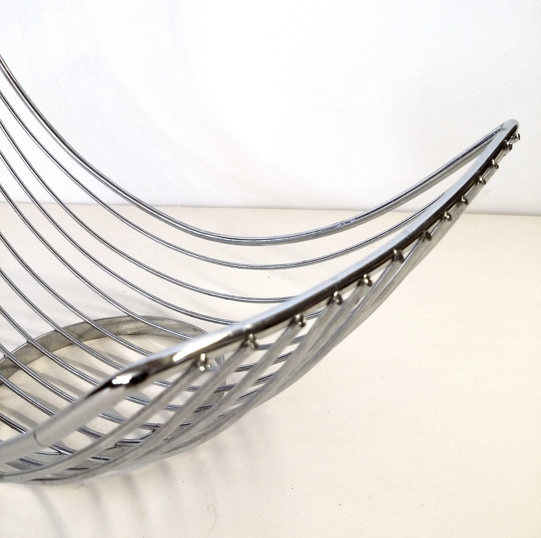 stainless steel banana hammock  u0026 fruit holder   image 4     stainless steel banana hammock  u0026 fruit holder   chairish  rh   chairish