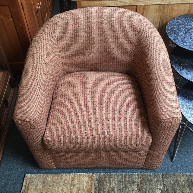 Patricia Edwards for Rudin Swivel Chairs - A Pair | Chairish