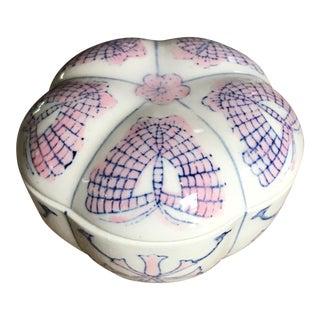 Vintage Porcelain Lidded Box