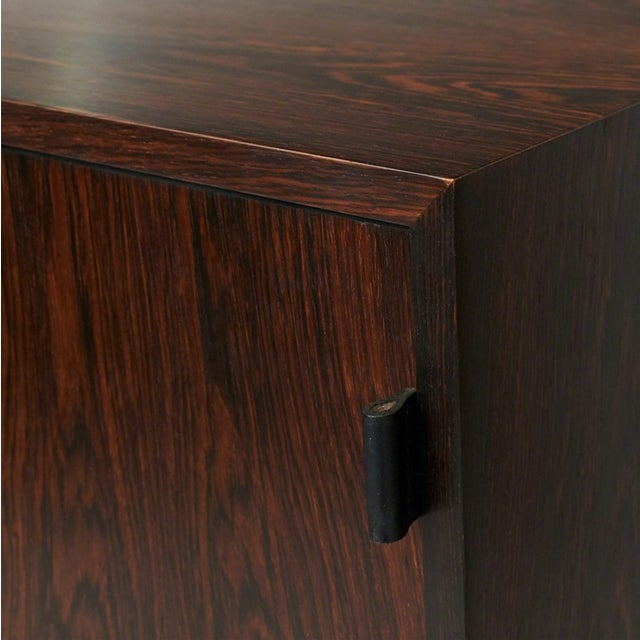 Florence Knoll Floating Rosewood Credenza For Sale In San Francisco - Image 6 of 8