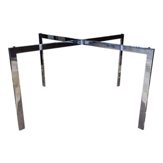 Mid-20th Century Knoll Ludwig Mies Van Der Rohe Barcelona Coffee Table Base For Sale