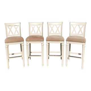 Drew Camden Buttermilk Bar Stools - Set of 4