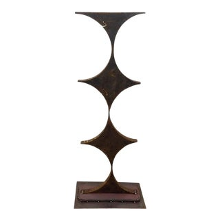 Late 20th Century Abstract Iron Sculpture 3 For Sale