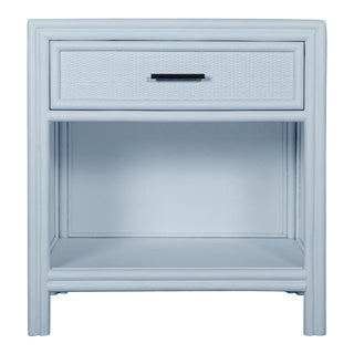 Bermuda One-Drawer Nightstand - Blue For Sale