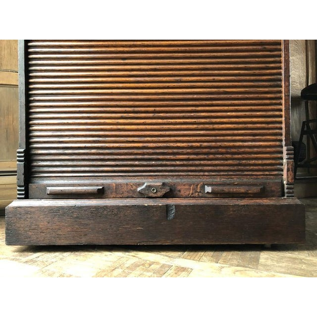 Antique Ambergs File Cabinet For Sale - Image 10 of 11