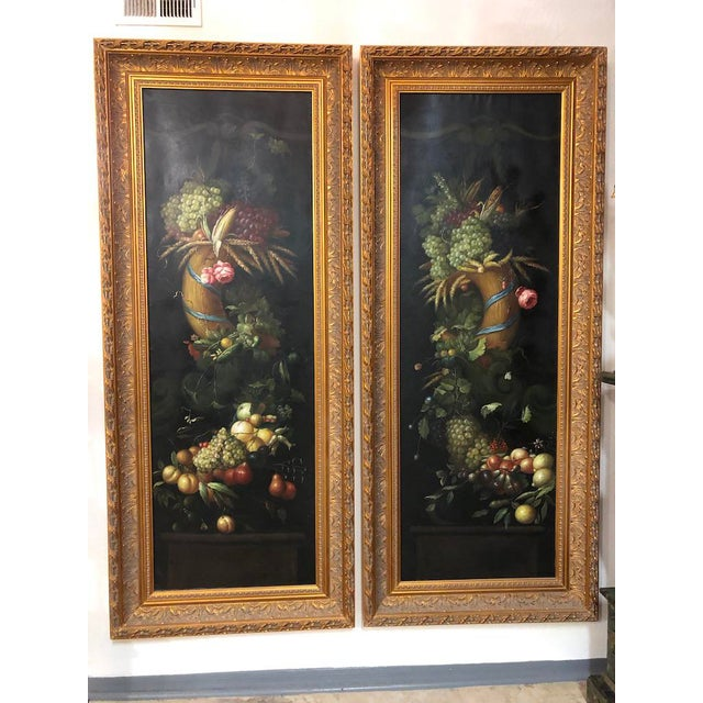 Framed Floral Paintings - a Pair For Sale - Image 11 of 11