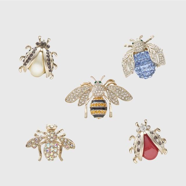 Modern Mini Bug Clip Set - Set of 5 For Sale - Image 3 of 3