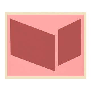 "Medium ""Pinks Disjointed"" Print by Jason Trotter, 38"" X 31"" For Sale"