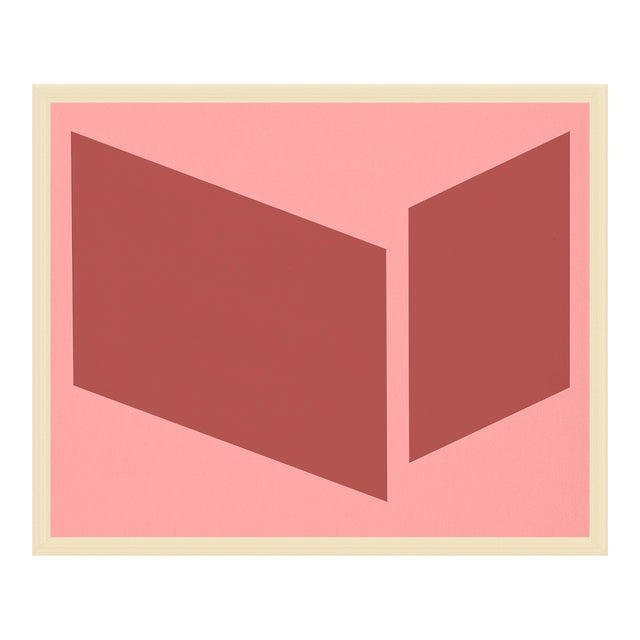 """Medium """"Pinks Disjointed"""" Print by Jason Trotter, 38"""" X 31"""" For Sale"""