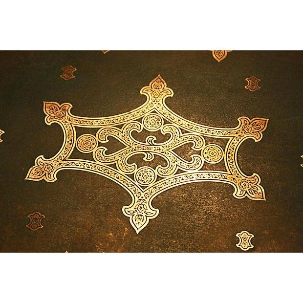 Antique Brass Tray - Image 2 of 5