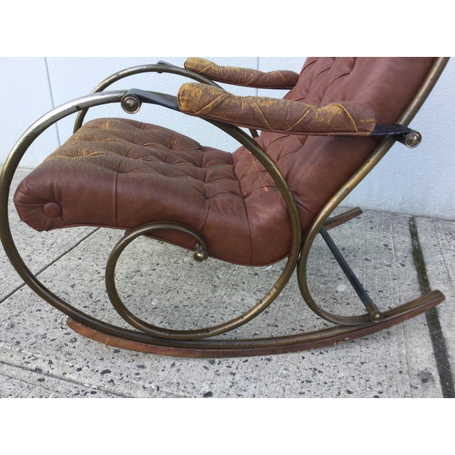 1960's Lee Woodard and Sons Rocking Chair - Image 6 of 11