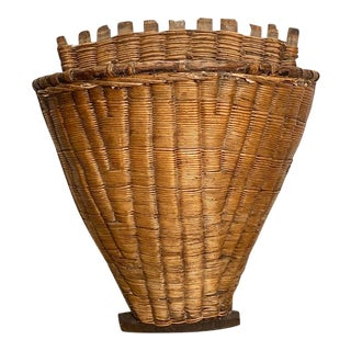 19th Century American Work Basket For Sale
