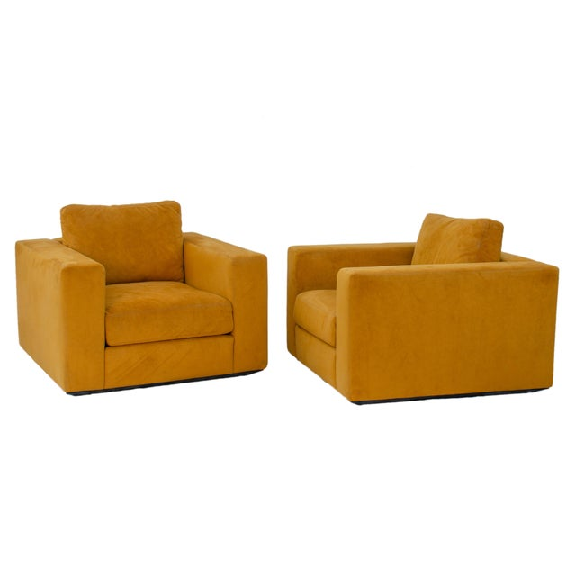 Jeffrey Bernett & Nicholas Dodziuk for Design Within Reach Armchairs - a Pair For Sale - Image 10 of 10