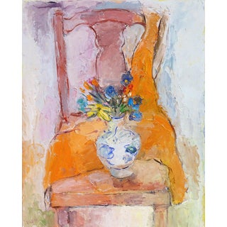 Anthony Rappa Bouquet on Chair 1990 For Sale