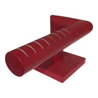 1970s Adjustable Red Desk Lamp For Sale