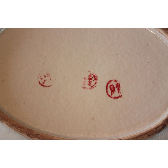 Ceramic Chinese Qing Dynasty Famille Rose Export Tureen For Sale - Image 7 of 7