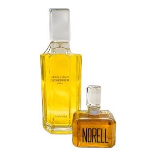 Decorative Parisienne Factice Perfume Bottles-Pair For Sale