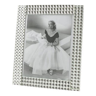 France 1950s Large Mirror Picture Photo Frame