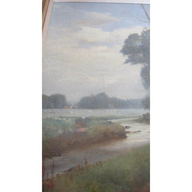 Landscape Oil Painting by Thomas Bunting - Image 3 of 8