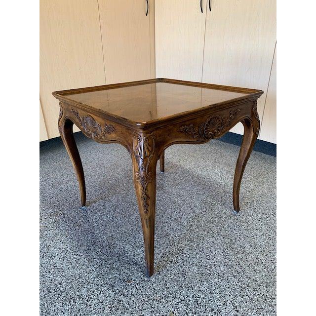 Henredon 1980s Louis XVII Henredon Villandry Collection Side Table For Sale - Image 4 of 7