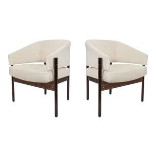 Jorge Zalszupin for L'Atelier 'Senior' Armchairs - a Pair For Sale