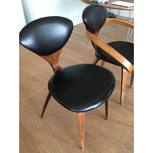 Norman Cherner Antique Chairs - Set of 4 - Image 7 of 11