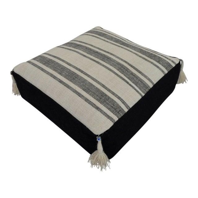 Turkish Handmade Kilim Floor Cushion For Sale