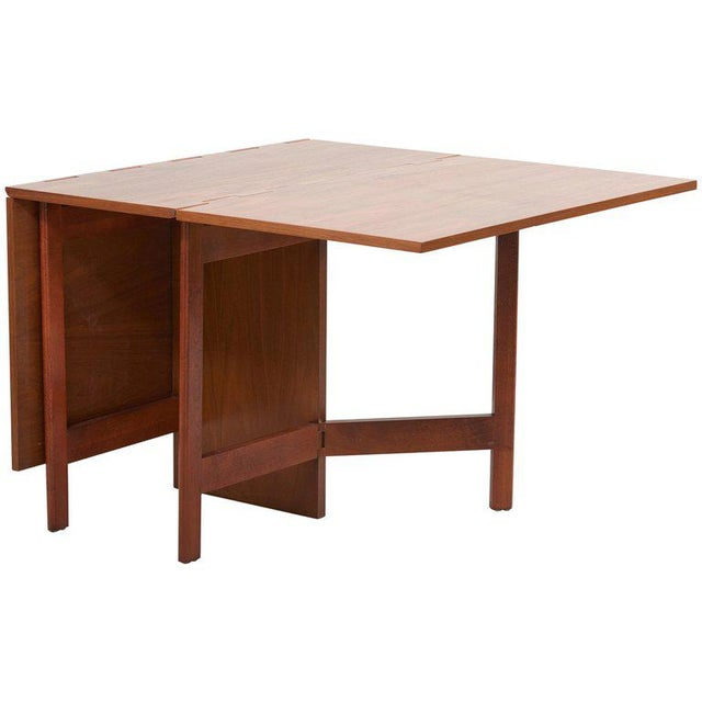 George Nelson Gate-Leg Dining Table Model 4656 by Herman Miller in Walnut For Sale - Image 13 of 13