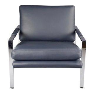 Milo Baughman for Thayer Coggin Flatbar Lounge Chair For Sale