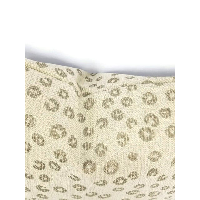 """Contemporary Lee Industries Nickels in the Color Taupe Lumbar Pillow Cover - 13.5"""" X 20"""" For Sale - Image 3 of 5"""