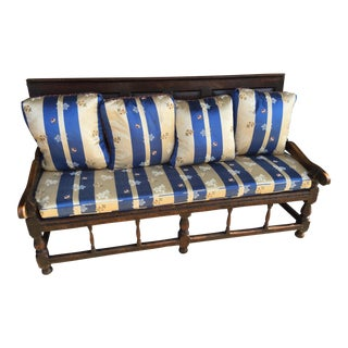 18th Century Welsh Hall Bench For Sale