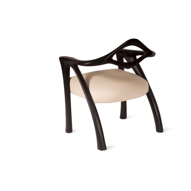 Amorph Amorph Darcey Dining Chair in Ebony Stain For Sale - Image 4 of 10