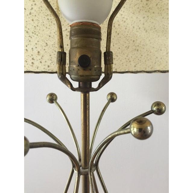 Mid-Century Modern Atomic Age Sputnik Table Lamp For Sale - Image 4 of 10