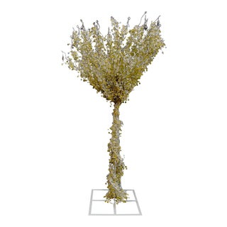 Beautiful Beaded Tree Floor Lamp For Sale
